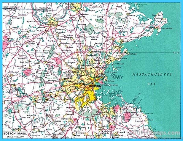 Ma Us Map Globalinterco - Massachusetts on us map