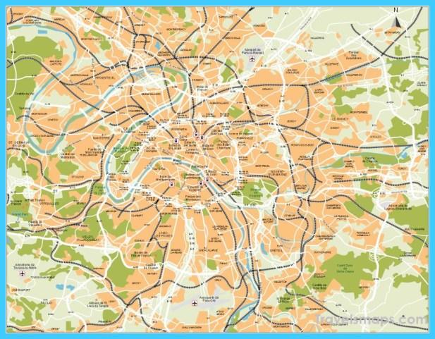 Map of Harare TravelsMapsCom