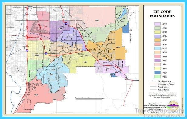 Map Of Henderson Nevada Vacations Travel Map Holiday - Nevada printable map