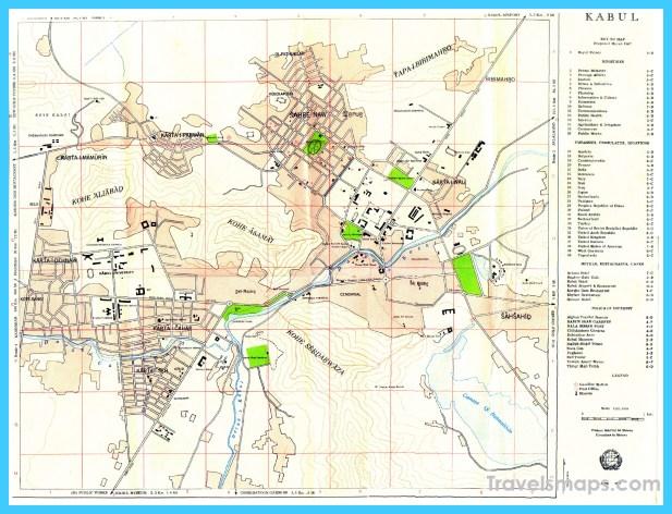 map of kabul vacations travel map holiday