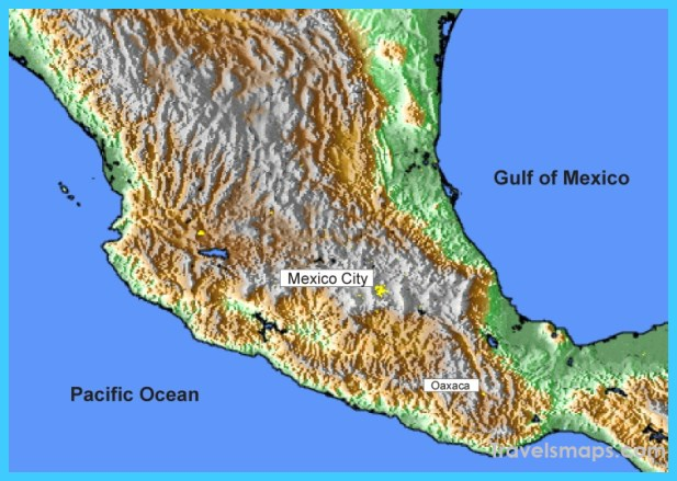 Map Of Mexico City Valley Of Mexico Travelsmaps Com