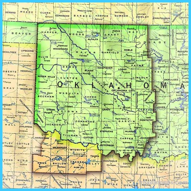 Map of Oklahoma  Oklahoma_8.jpg