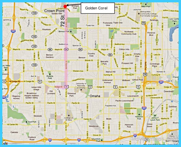 Map Of Omaha Nebraska - TravelsMaps.Com