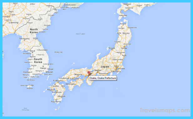 Map of OsakaKobeKyoto Keihanshin TravelsMapsCom