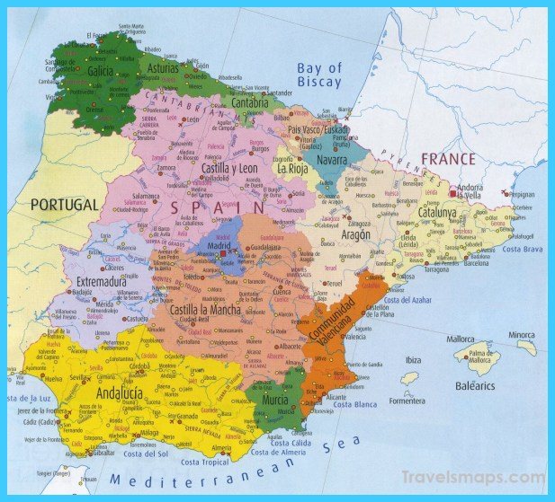 Map Of Spain Google Maps.Google Spain Map Map North East