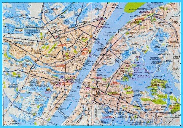 Map of Wuhan TravelsMapsCom