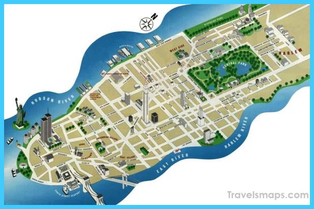 Central Park Map NYC TravelsMapsCom