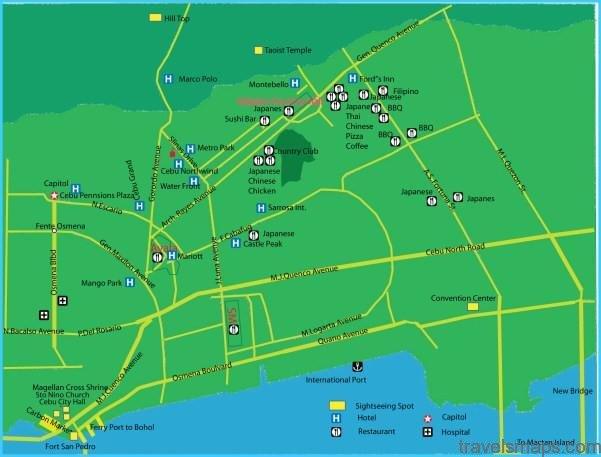 CEBU CITY MAP