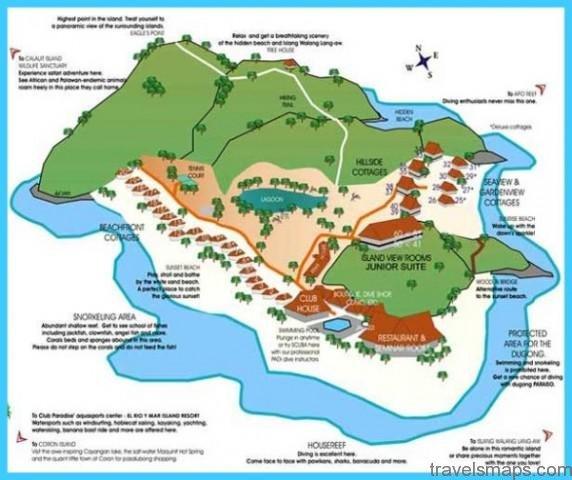 Map of Coron