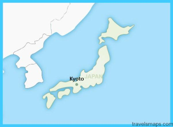 Japan Map Kyoto.Map Of Kyoto Japan Travelsmaps Com