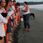 releasing sea turtles costa rica cant believe we made it 49