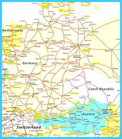 Detailed Map Of Austria With Cities _14.jpg