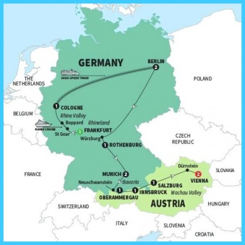 Map Of Austria And Hungary Map Of Germany Austria And Italy ...