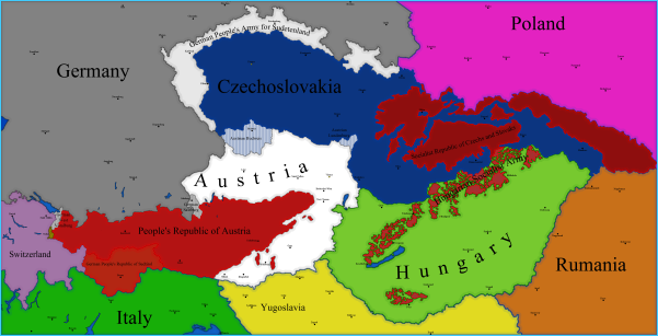 Map Of Germany And Hungary.Map Of Austria And Hungary Map Of Germany Austria And Italy