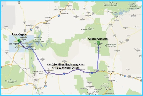 Map of Grand Canyon - TravelsMaps.Com ® Map From Las Vegas To Grand Canyon on grand canyon mule rides, grand canyon from hoover dam, grand canyon from phoenix map,