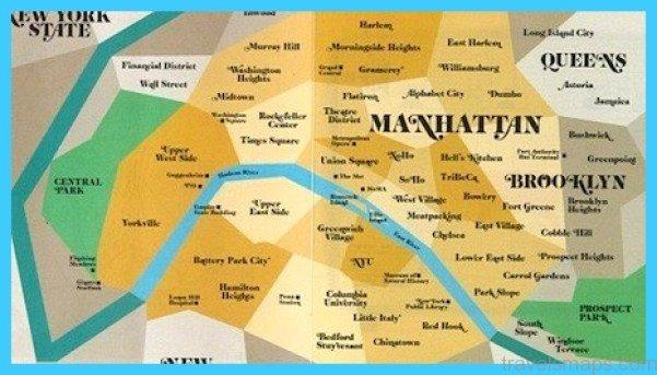 Map Of Paris Districts - TravelsMaps.Com ®