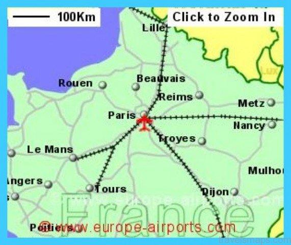 Paris Map Airports - TravelsMaps.Com ®