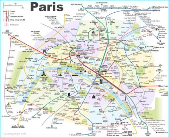 Paris Map France Paris France Map_0.jpg