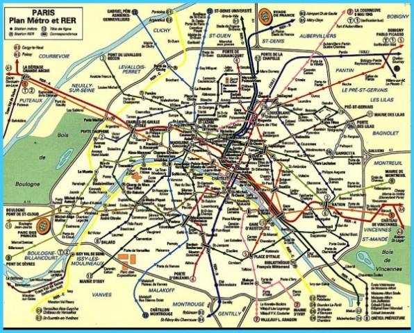 Paris map of arrondissements paris arrondissement map - Station metro jardin du luxembourg ...