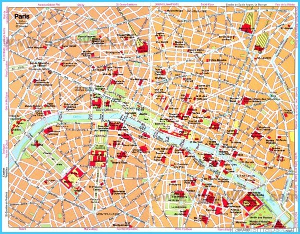 Paris Map Tour
