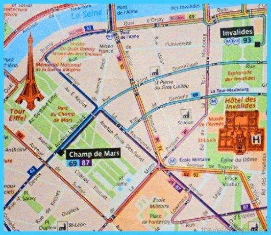 Paris Metro Map Paris Map With Metro