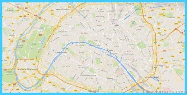 Paris On Map Paris Map Google