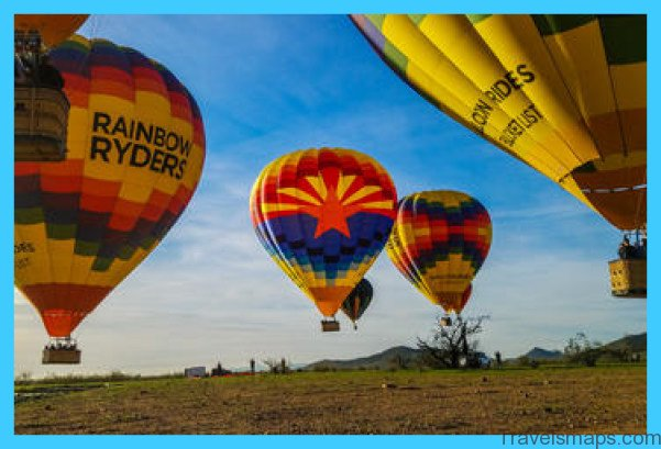 Hot Air Ballooning Tours in Phoenix Arizona