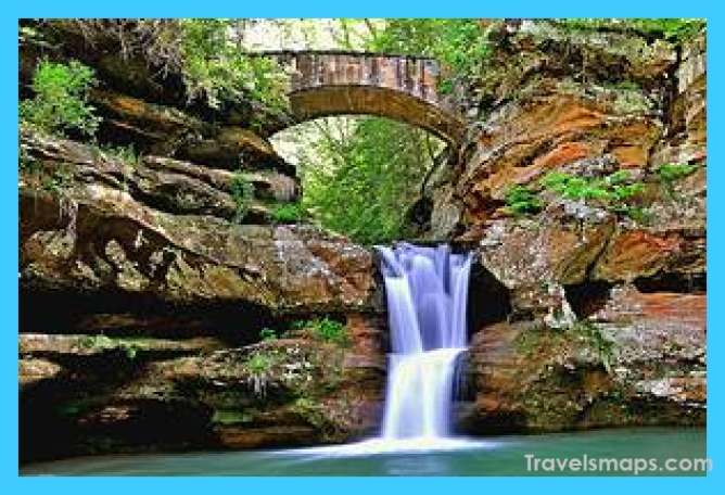 ohio places visit attractions tourist travelsmaps hard passing