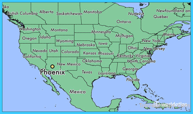 Where is Phoenix, AZ? / Phoenix, Arizona Map - WorldAtlas.com