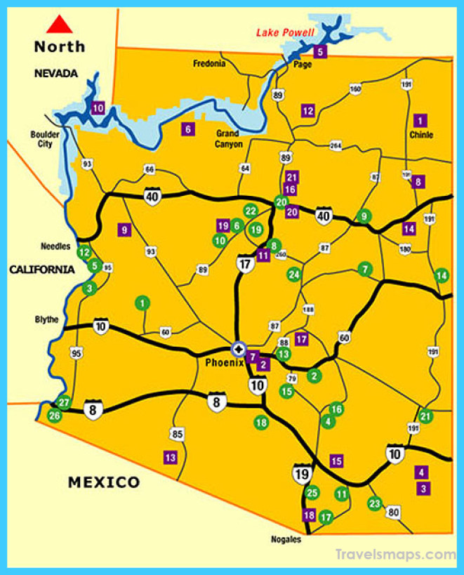 Arizona State Parks | National Parks in Arizona | Map Locations