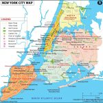 where is new york new york map location nyc map image