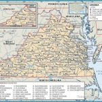 State and County Maps of Virginia