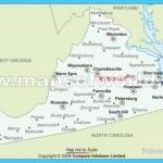 Buy Virginia Airports Map