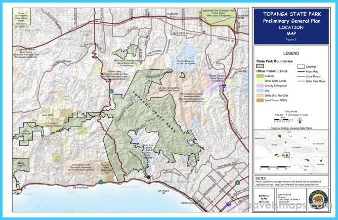 Topanga State Park - Maplets