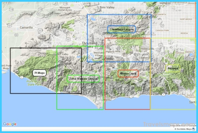 Topanga State Park – Tom Harrison Maps