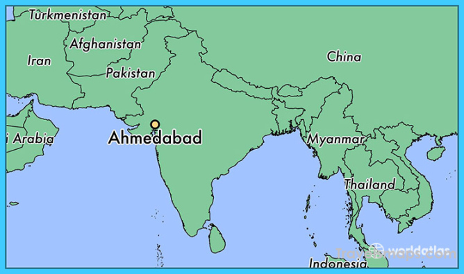 Where is Ahmedabad, India? / Ahmedabad, Gujarat Map