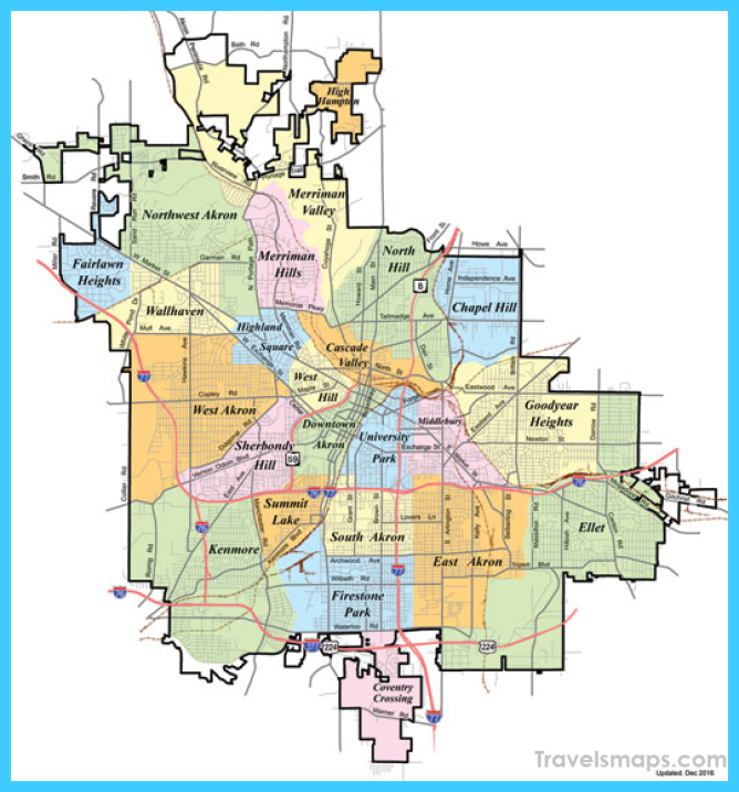 Akron Ohio News - Akron neighborhoods tweaked with revised map