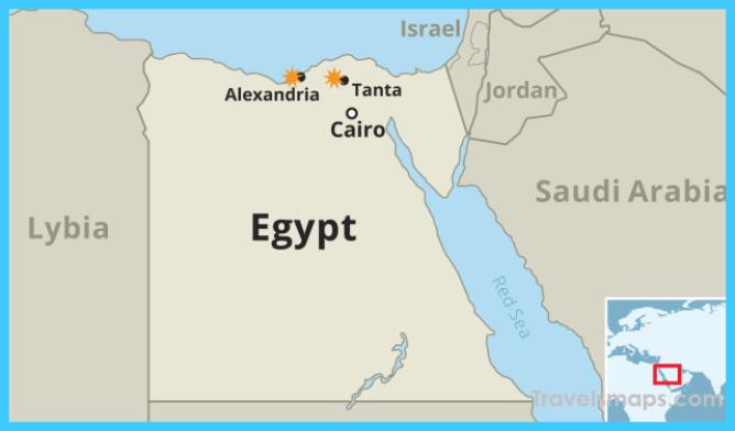 Where is Alexandria Egypt? | Alexandria Egypt Map | Map of ...