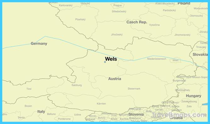 Where is Wels, Austria? / Wels, Upper Austria Map