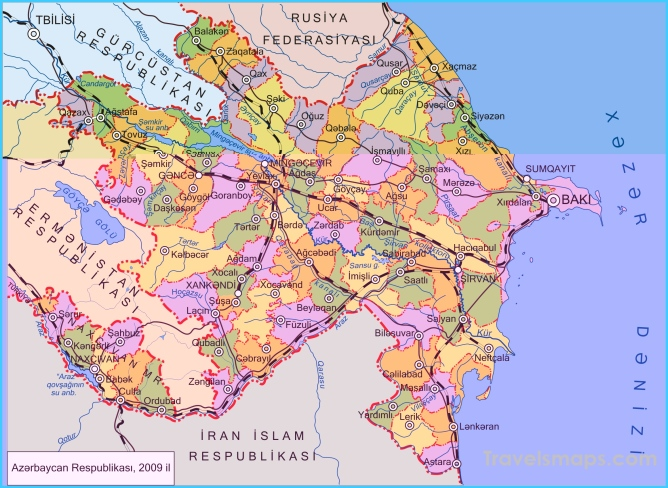 Azerbaijan Maps