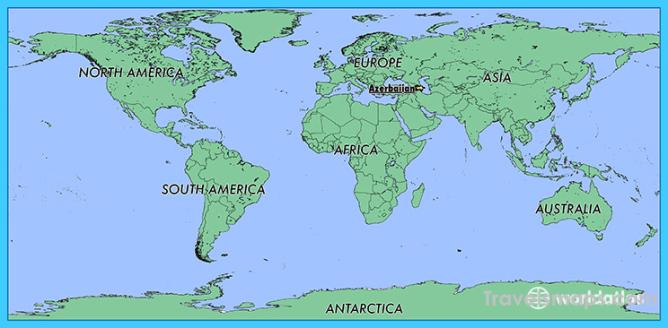 Where Is Azerbaijan Azerbaijan Map Map Of Azerbaijan