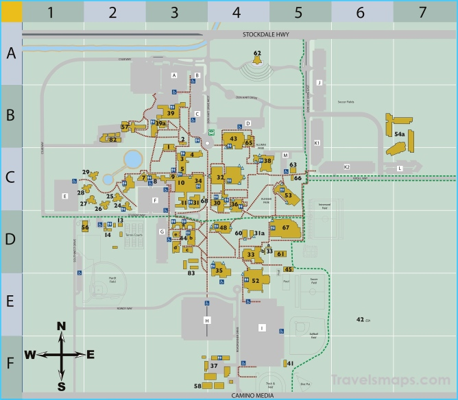 Campus Map - CSU, Bakersfield