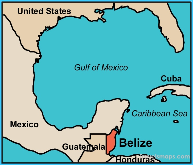 Where is Belize? We'll Send You a Free Map of this Caribbean Paradise