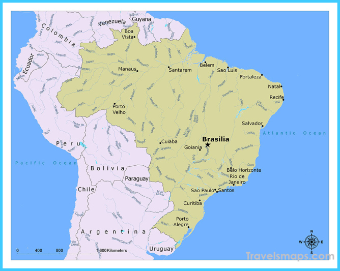 Where is Brasília Brazil? | Brasília Brazil Map | Map of ...
