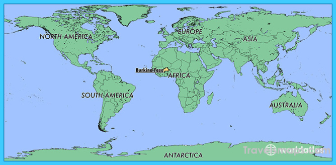 Where Is Burkina Faso Burkina Faso Map Map Of Burkina Faso