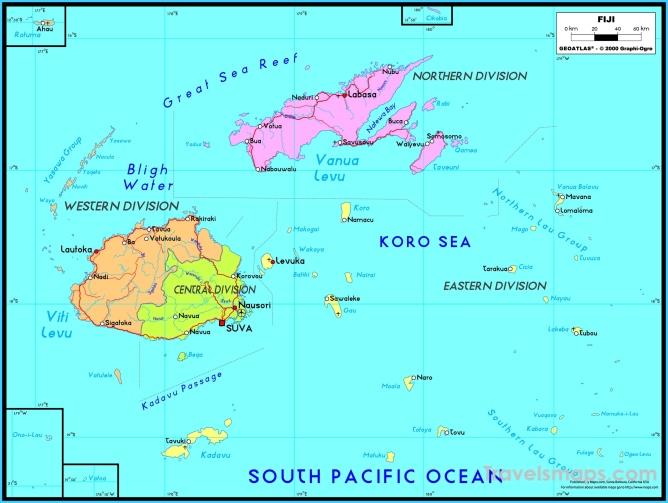 Where is Fiji? | Fiji Map | Map of Fiji - TravelsMaps.Com ®