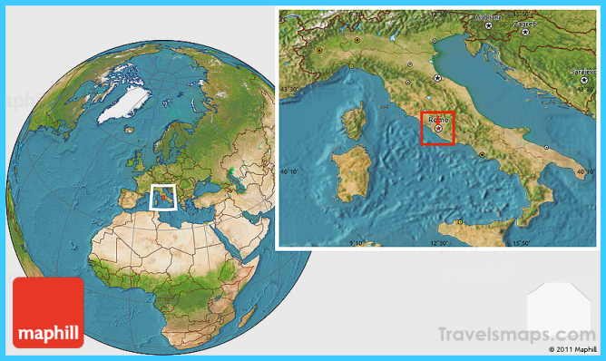 Where is Holy See? | Holy See Map | Map of Holy See - TravelsMaps.Com ®