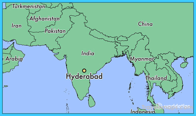 Hyderabad In India Map Where is Hyderabad India? | Hyderabad India Map | Map of Hyderabad