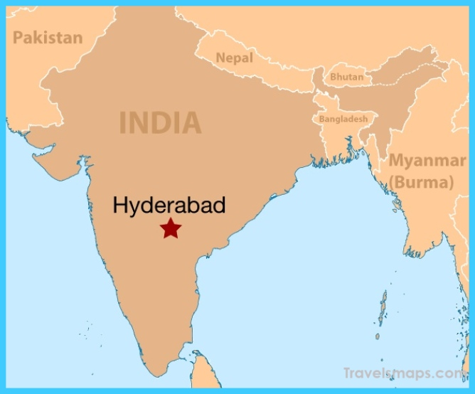 Where Is Hyderabad India Hyderabad India Map Map Of Hyderabad