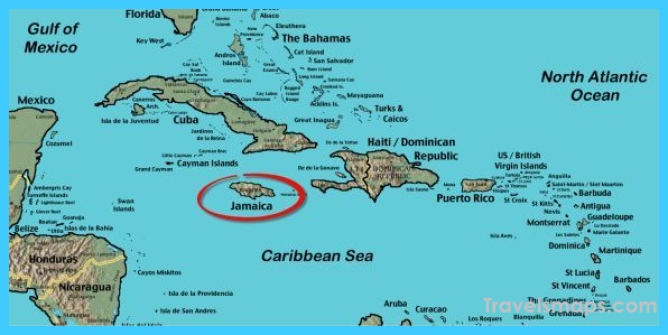 Where is Jamaica? | Jamaica Map | Map of Jamaica ...